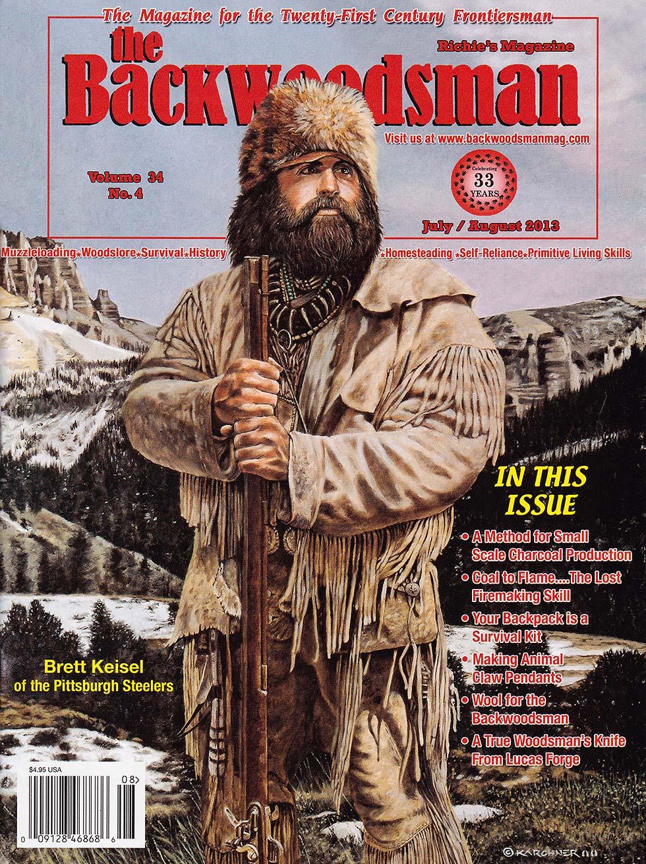 A Wyoming Spirit Brett Keisel Backwoodsman Cover