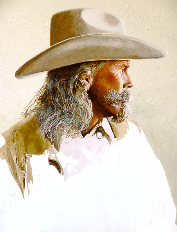 Alan Baker as Buffalo Bill WIP 03