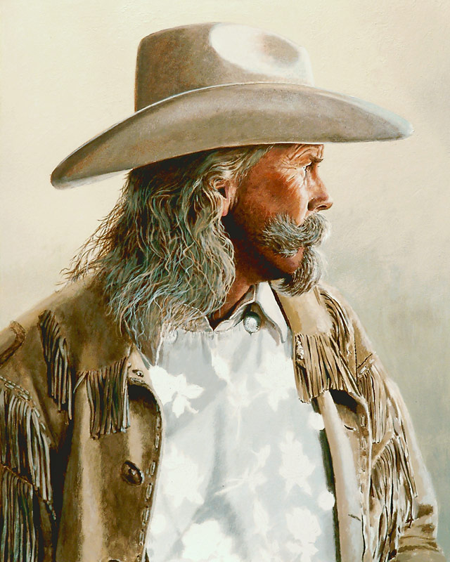 Alan Baker as Buffalo Bill WIP 05