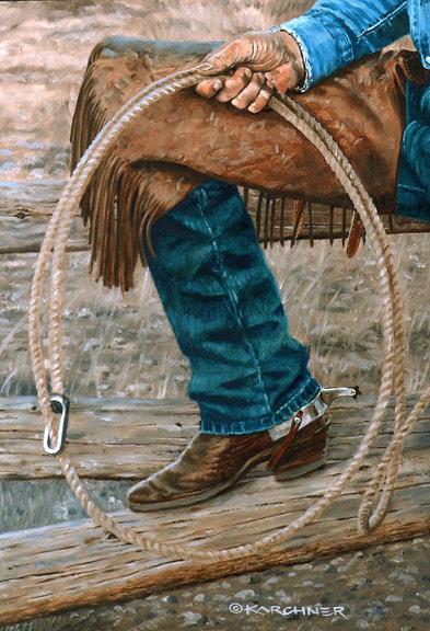 Bronze Cowboy WIP 10