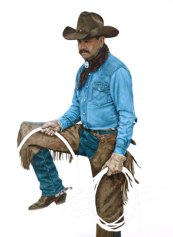 Bronze Cowboy WIP 6