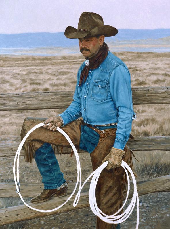 Bronze Cowboy WIP 8
