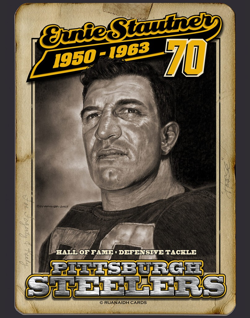 Ernie Stautner Hall of Fame Card