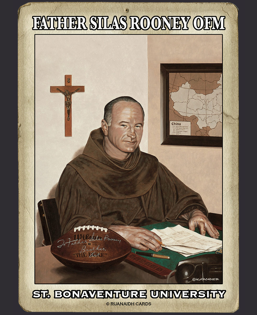 Father Silas Rooney OFM Card