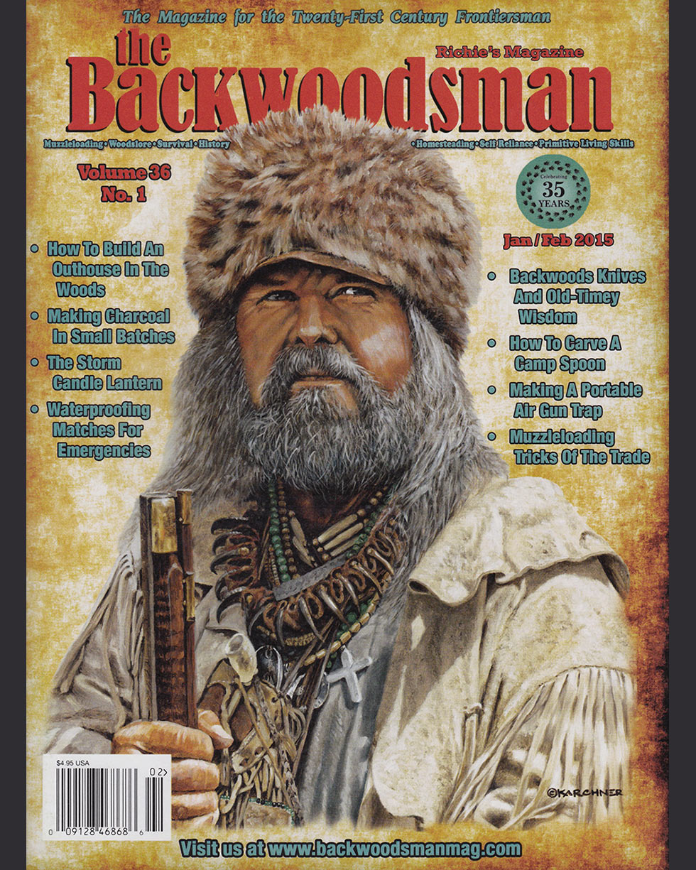 The Mountain King, Gage Skinner Backwoodsman Cover