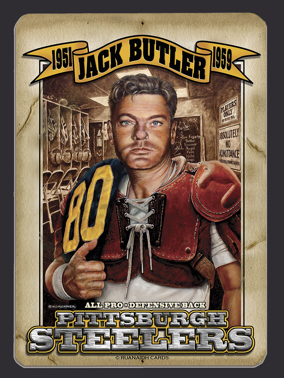Jack Butler – A Man for all Seasons Locker Room Card