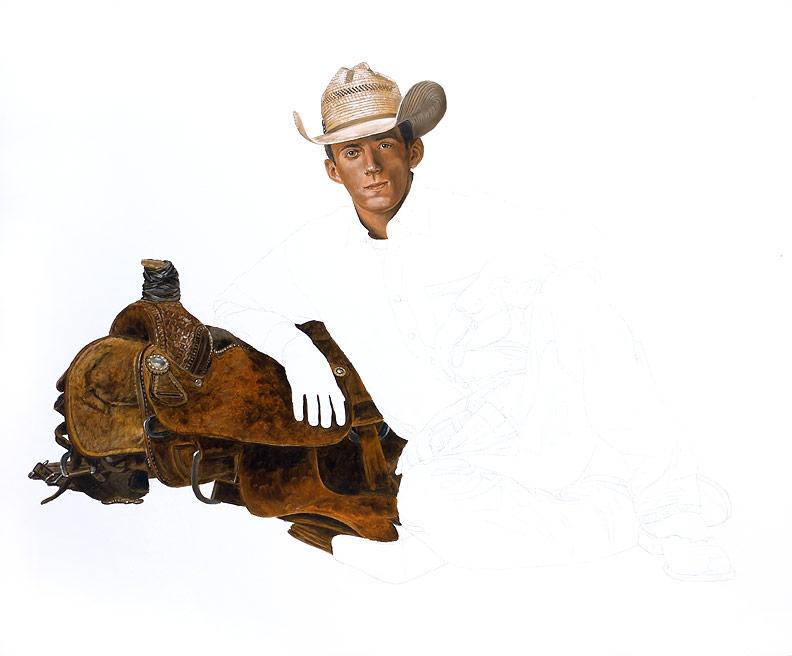 Rodeo Spirit WIP 04