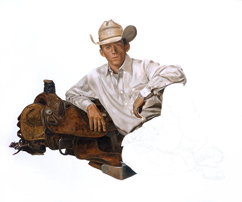 Rodeo Spirit WIP 06