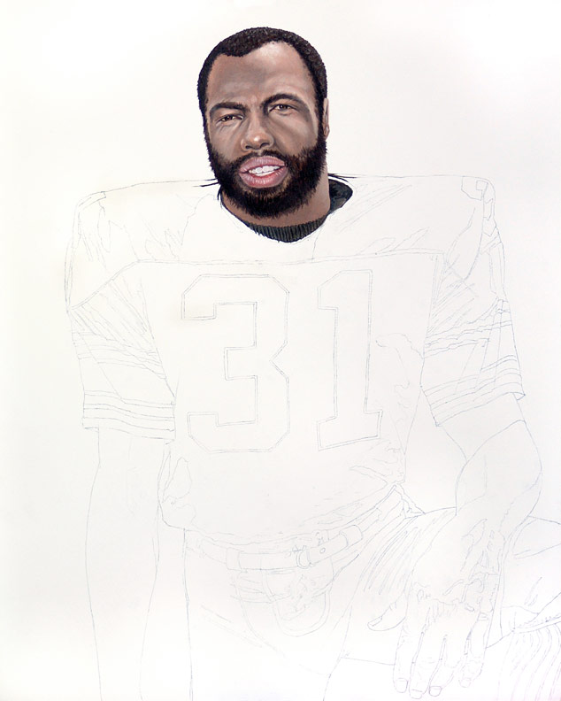 Steeler Great Donnie Shell WIP 01