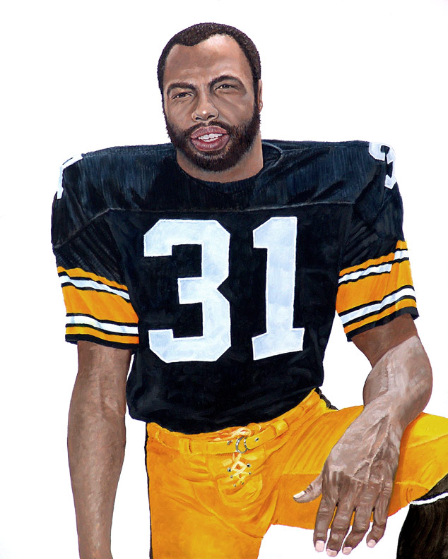Steeler Great Donnie Shell WIP 04