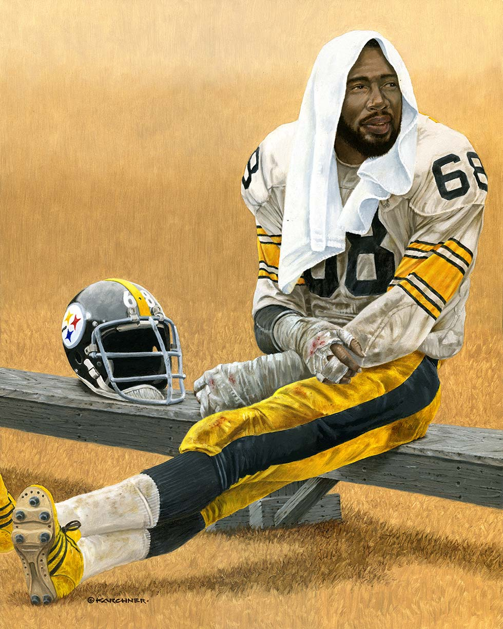 Steeler Great, L.C. Greenwood