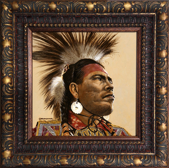 Wayne Fox Grass Dancer Frame