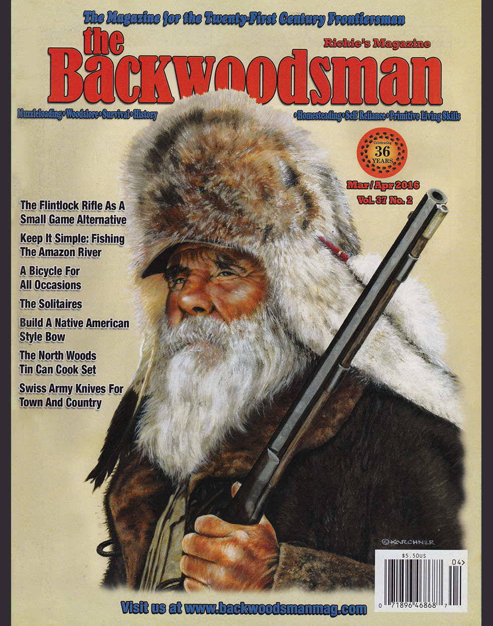 The Backwoodsman Magazine January/February 2008