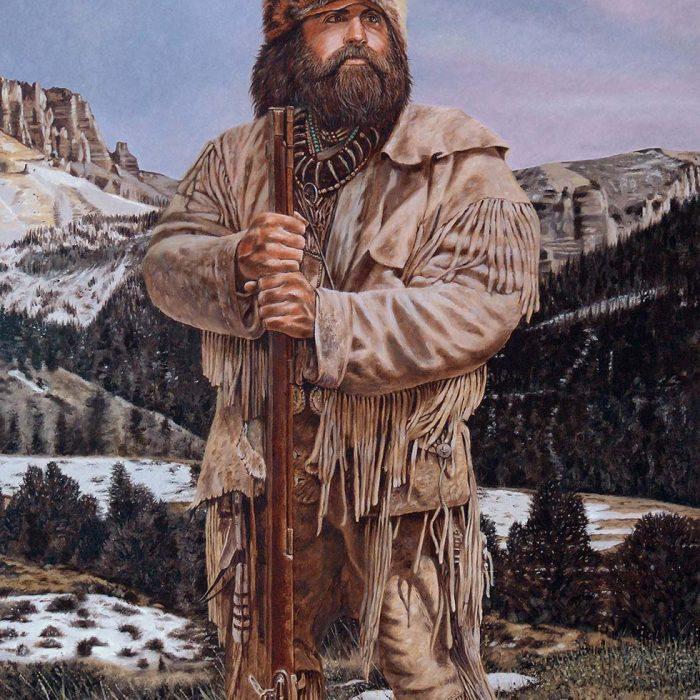 Painting Of A Wyoming Spirit Brett Keisel