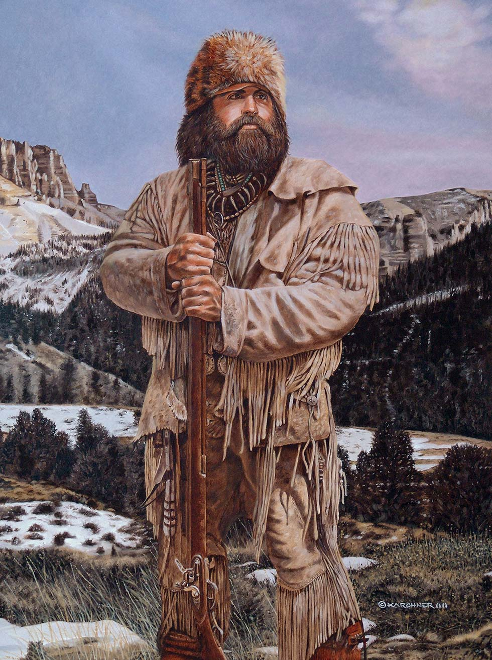 Painting Of A Wyoming Spirit Brett Keisel