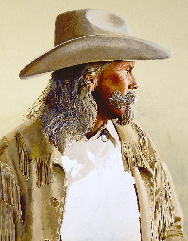 Alan Baker as Buffalo Bill WIP 04