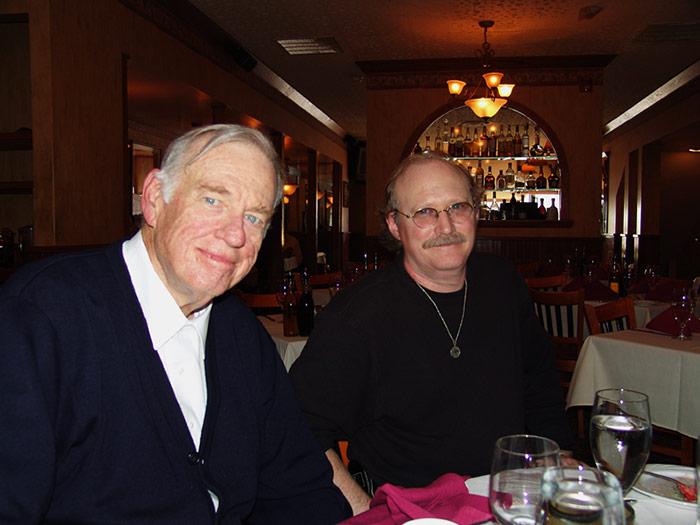 Art Rooney and Denny Karchner