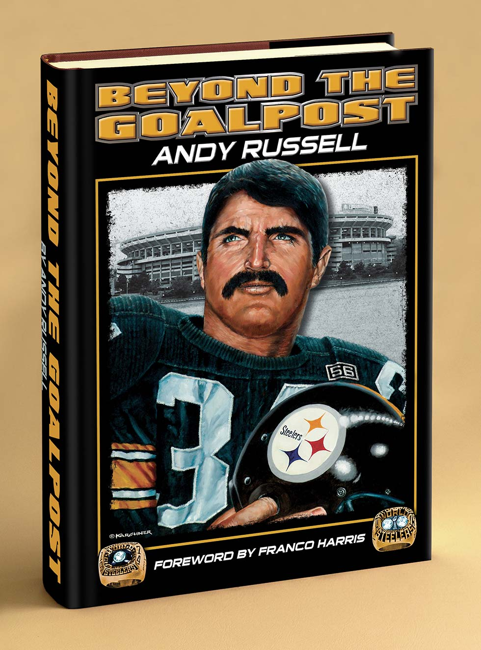 "€�Beyond The Goalpost"" By Former Pittsburgh Steeler, Andy Russell"