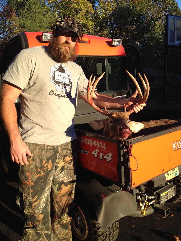 Brett Keisel with Deer