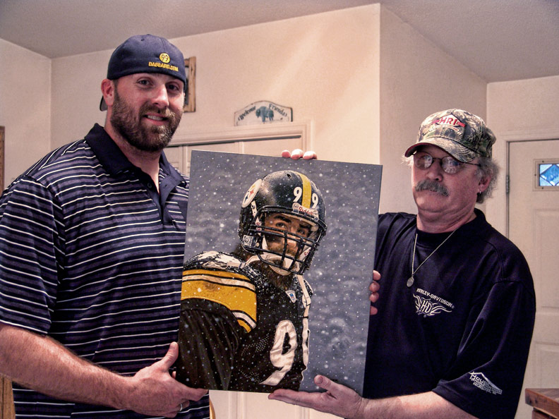 Brett Keisel Lands At The Ranch