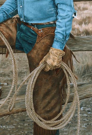 Bronze Cowboy WIP 11