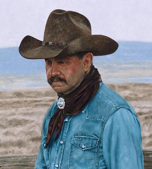 Bronze Cowboy WIP 9