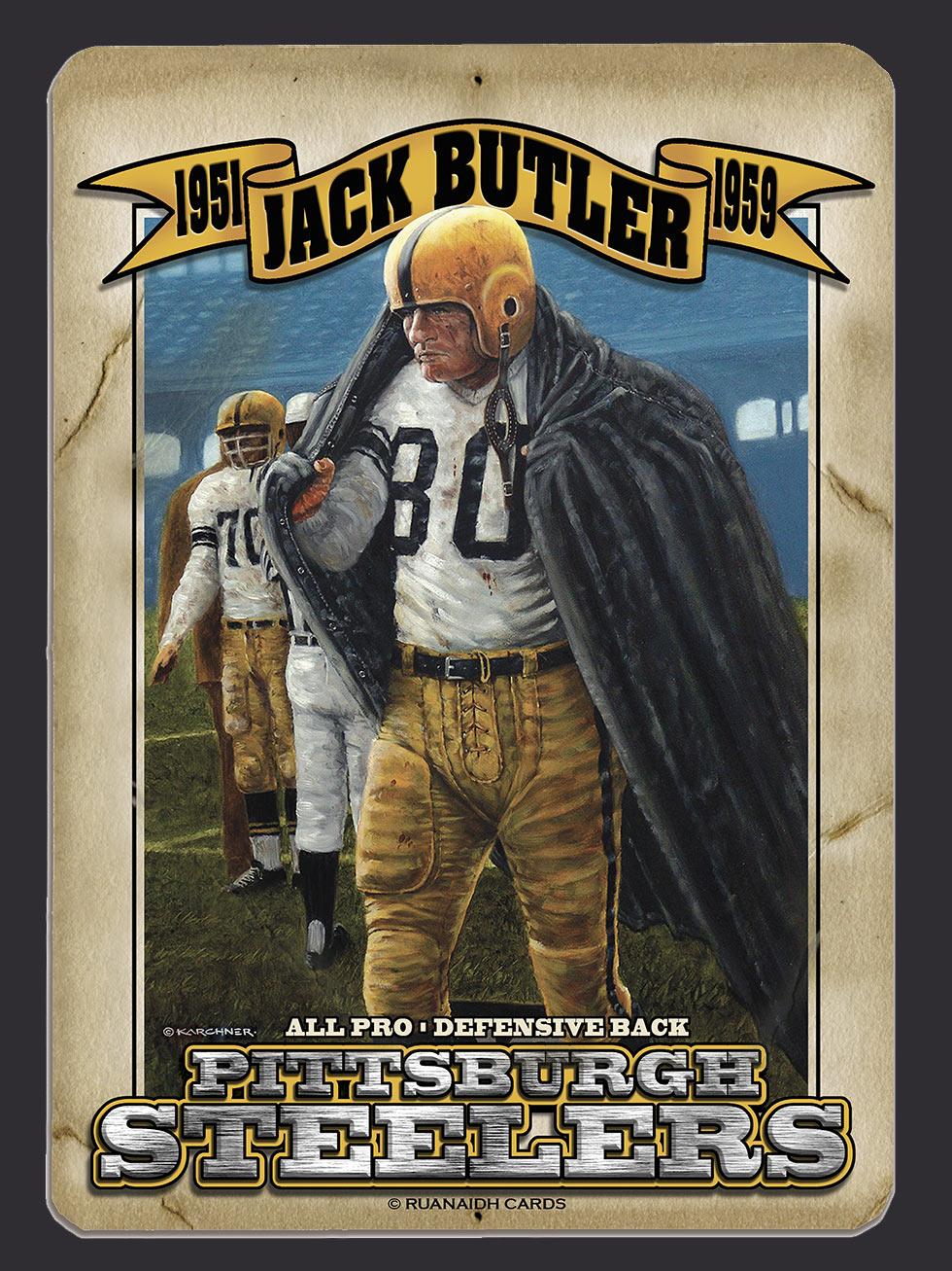 Jack Butler – A Man for all Seasons Forbes Field Card