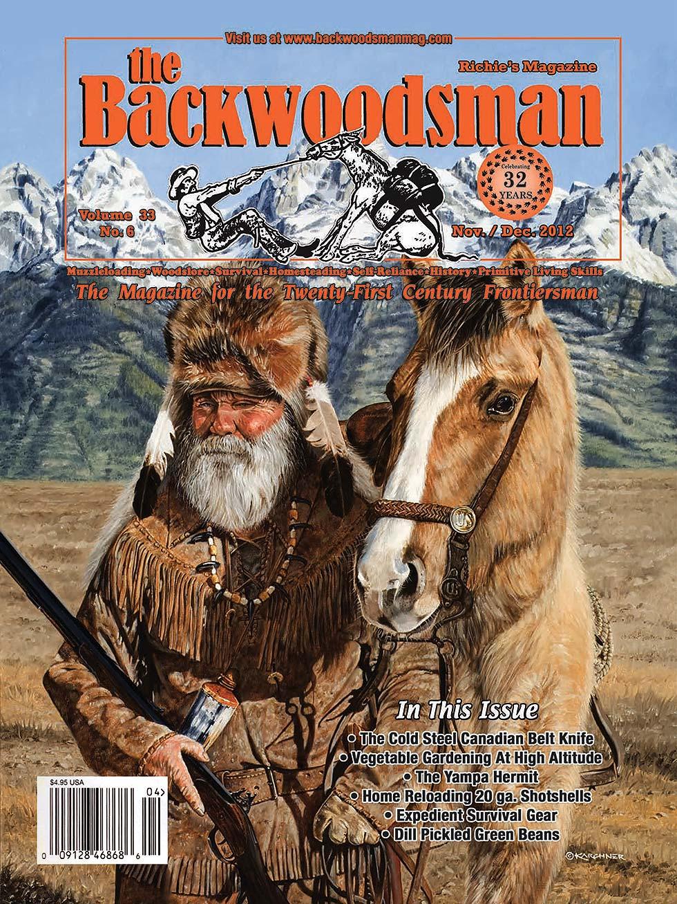 Over the Great Divide Backwoodsman Cover