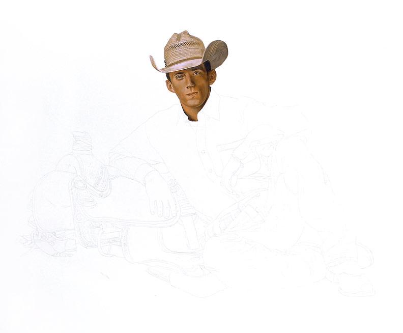 Rodeo Spirit WIP 02