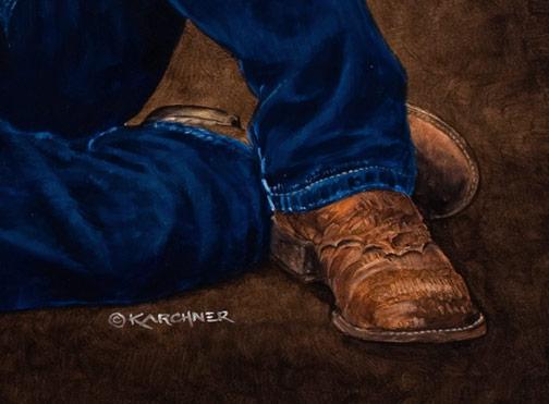 Rodeo Spirit WIP 12