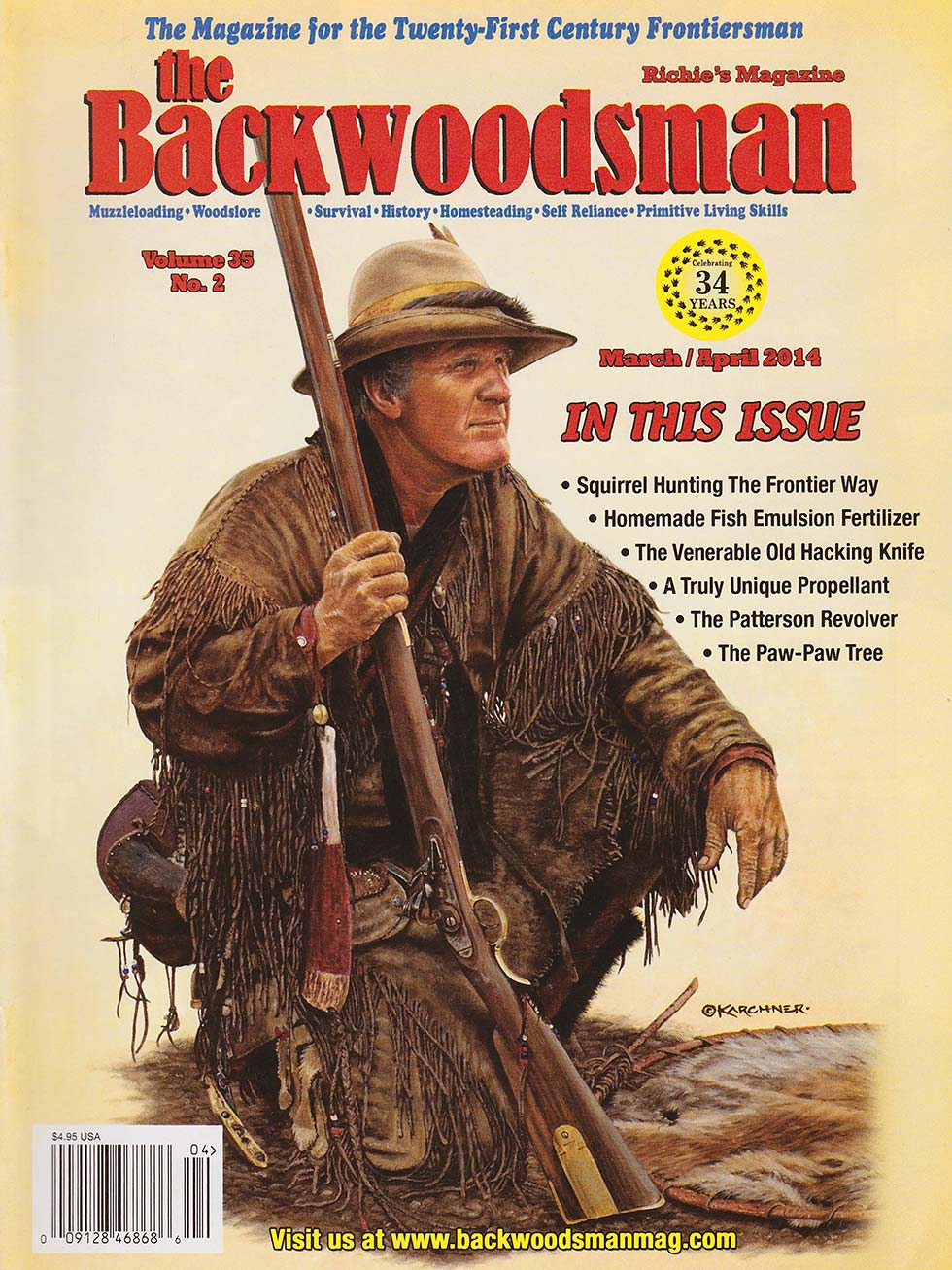 Spirit Horse Hunter Richard Ashburn Backwoodsman Cover