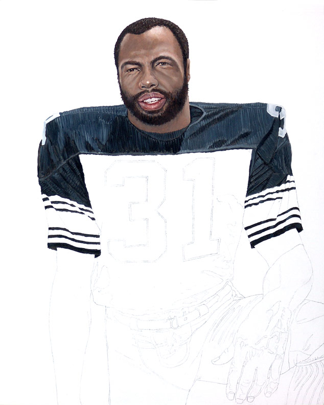 Steeler Great Donnie Shell WIP 02
