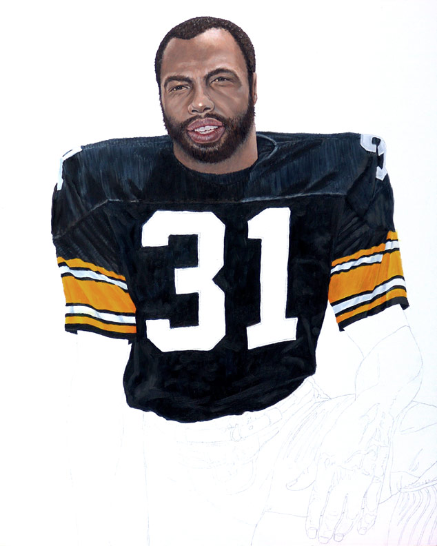 Steeler Great Donnie Shell WIP 03