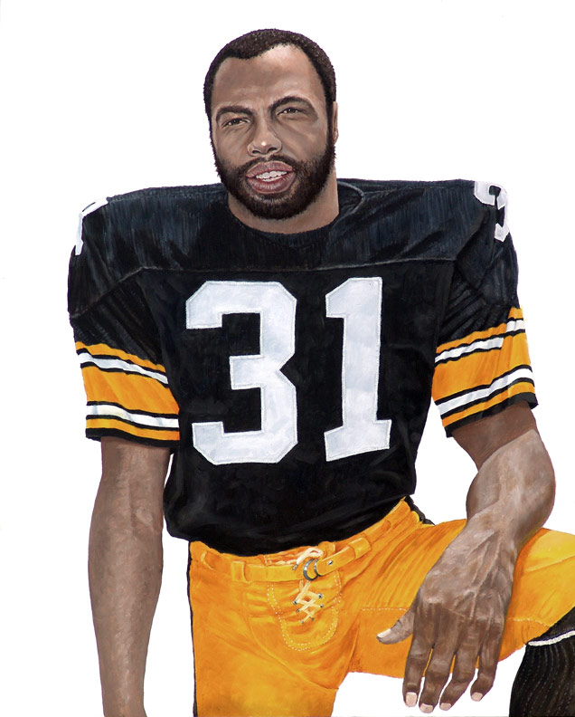 Steeler Great Donnie Shell WIP 05