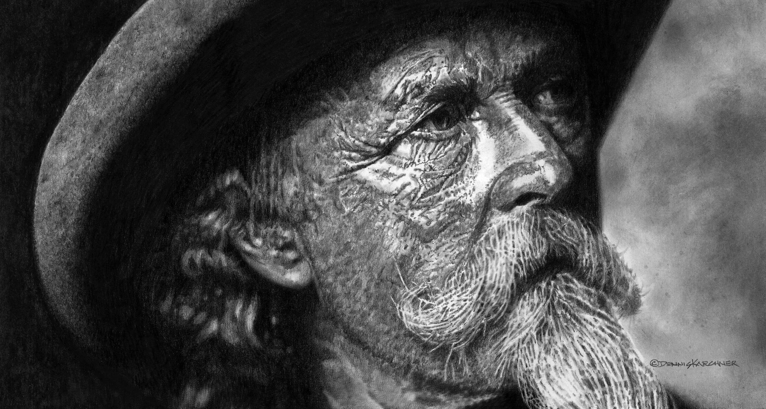 Western Art Pencil Illustrations