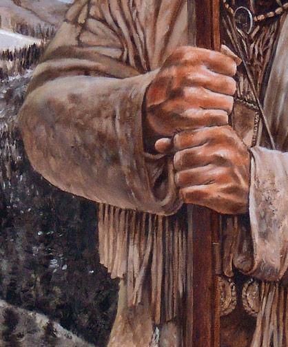 Wyoming Spirit Brett Keisel WIP 11