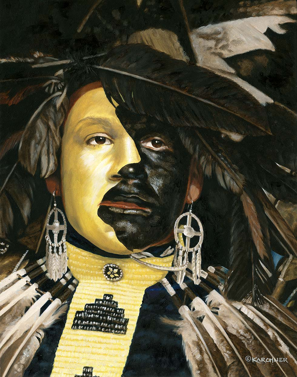 Painting Of Cheyenne Moon €� Danny Reyes
