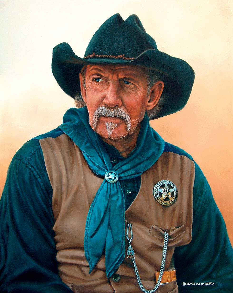 Painting Of Gordon Bond-Shiloh