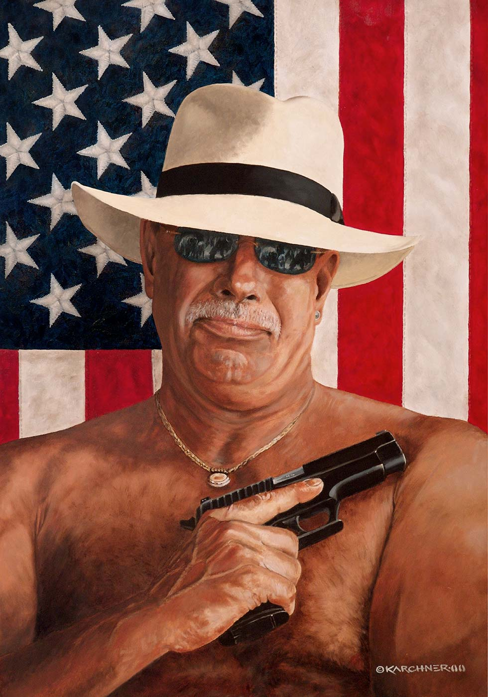 Painting Of An American Spirit