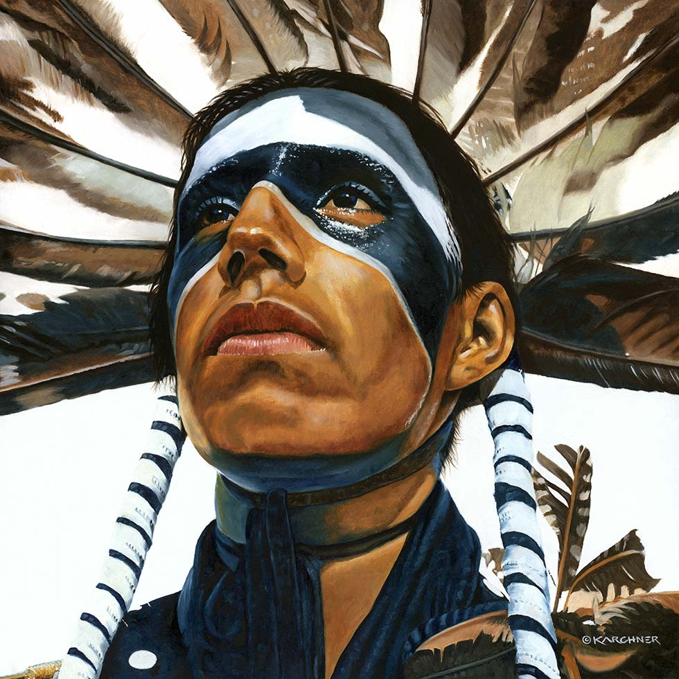 Painting Of Proud – Jay Eagle